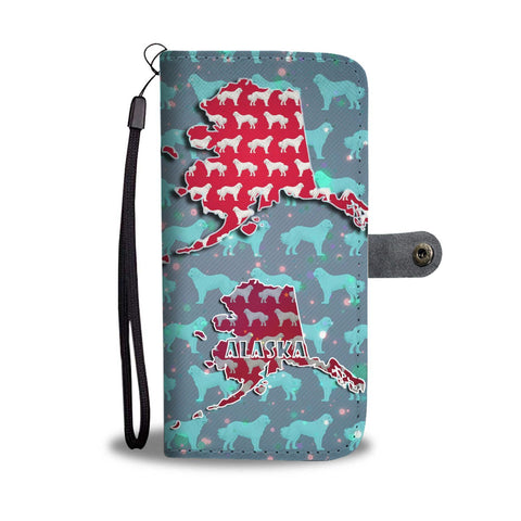 Great Pyrenees Dog Pattern Print Wallet Case-Free Shipping-AK State