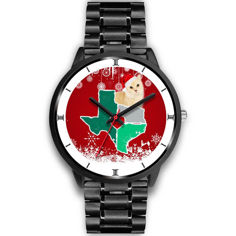 Munchkin Cat Texas Christmas Special Wrist Watch-Free Shipping