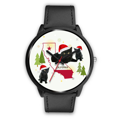 Bombay Cat California Christmas Special Wrist Watch-Free Shipping