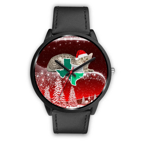 Ocicat Texas Christmas Special Wrist Watch-Free Shipping