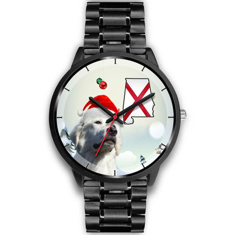 Great Pyrenees Alabama Christmas Special Wrist Watch-Free Shipping