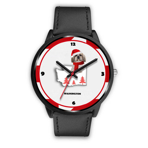 Shih Tzu Washington Christmas Special Wrist Watch-Free Shipping