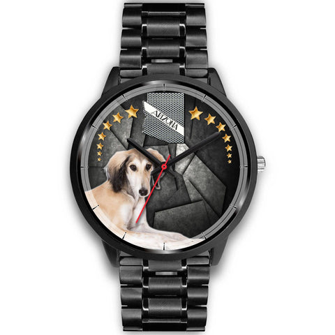 Saluki Dog Arizona Christmas Special Wrist Watch-Free Shipping