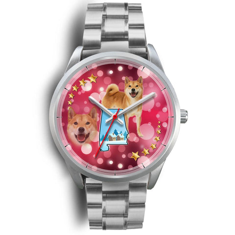 Shiba Inu Alabama Christmas Special Wrist Watch-Free Shipping