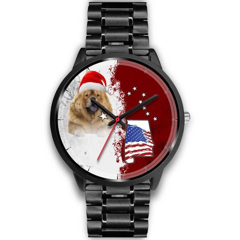 Chow Chow Alabama Christmas Special Wrist Watch-Free Shipping