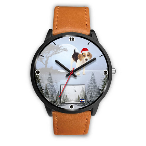 Beagle Dog Colorado Christmas Special Wrist Watch-Free Shipping