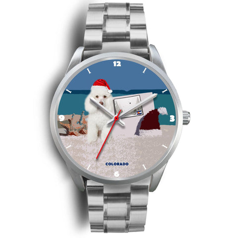 Poodle Dog Colorado Christmas Special Wrist Watch-Free Shipping