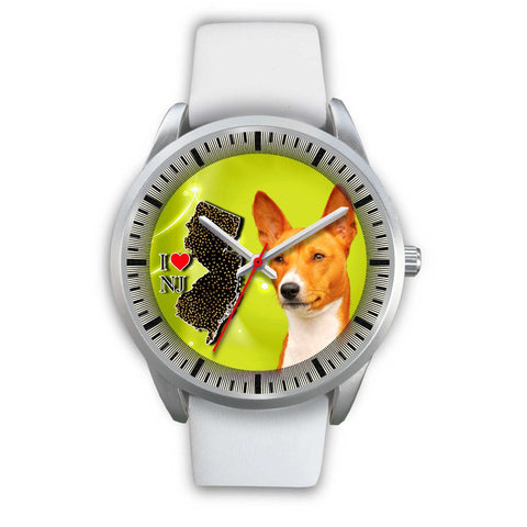 Cute Basenji Dog New Jersey Christmas Special Wrist Watch-Free Shipping
