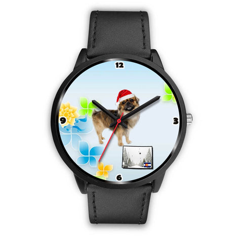 Tibetan Spaniel Colorado Christmas Special Wrist Watch-Free Shipping