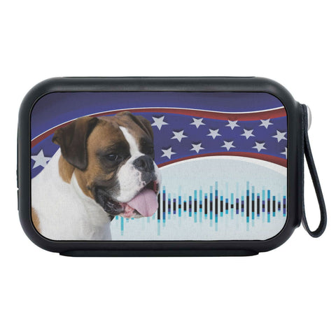 Boxer Dog Print Bluetooth Speaker