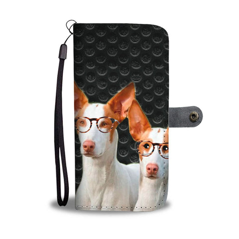 Ibizan Hound Dog Print Wallet Case-Free Shipping