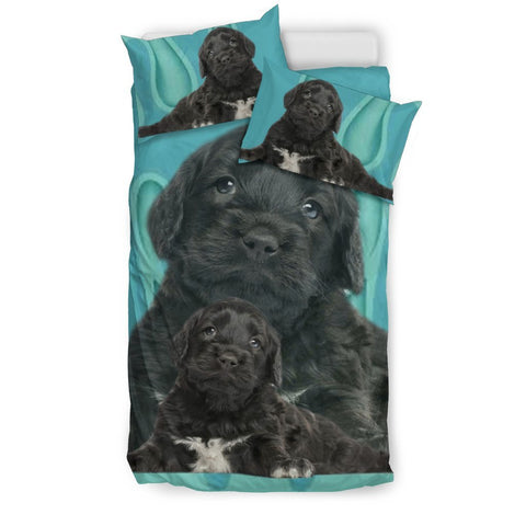 Portuguese Water Dog Print Bedding Sets-Free Shipping