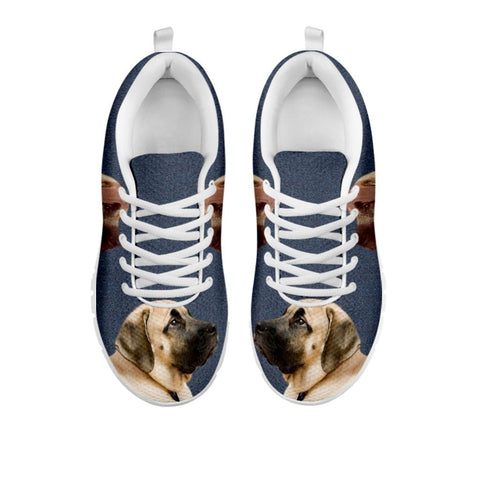 Amazing English Mastiff Print Running Shoes For Women-Free Shipping-For 24 Hours Only