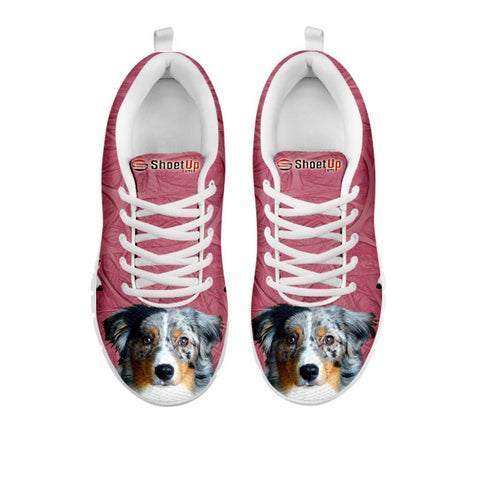 Amazing Miniature American Shepherd-Women's Running Shoes-Free Shipping-For 24 Hours Only