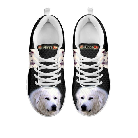 Amazing Great Pyrenees Dog-Women's Running Shoes-Free Shipping-For 24 Hours Only