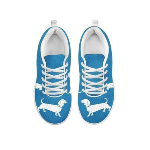 Cute Dachshund Dog Print Running Shoes For Women-Free Shipping-For 24 Hours Only
