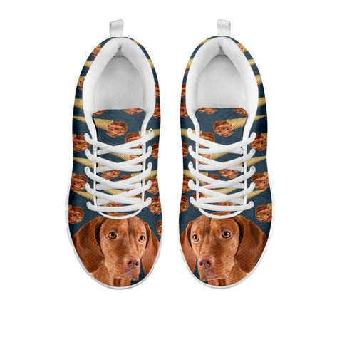 Amazing Vizsla Dog Print Running Shoes For Women-Free Shipping-For 24 Hours Only