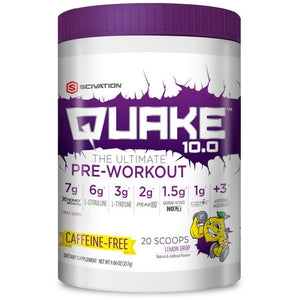 Quake Stim Free Lemon Drop 20 Servings