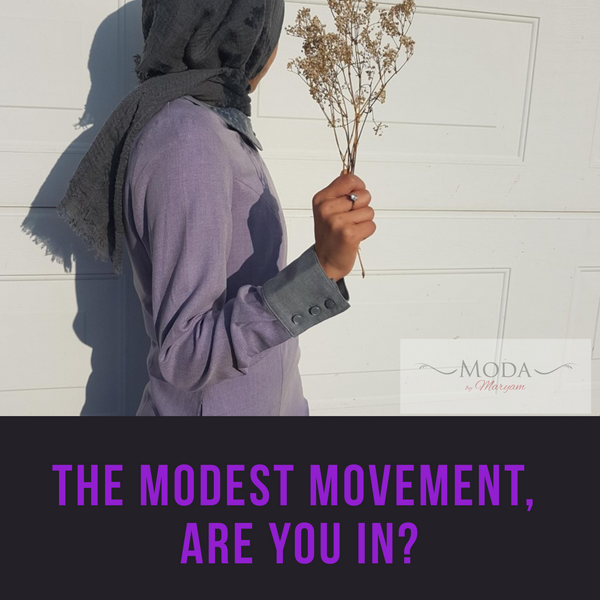 THE MODEST MOVEMENT, ARE YOU IN?