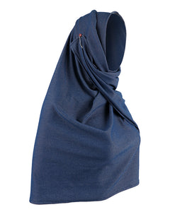 Semi Instant Denim Hijab