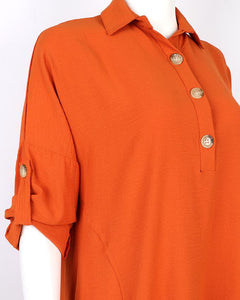 Burnt Orange Tunic