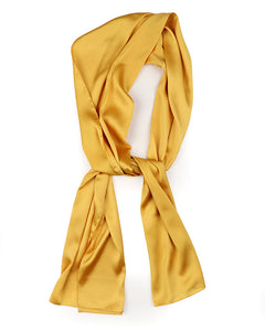 Gold Satin scarf