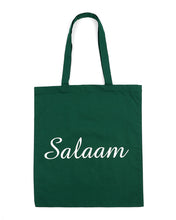 Green Salaam Tote Bag