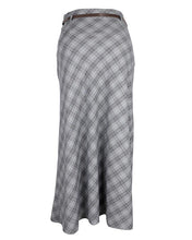 Checkered Grey Skirt