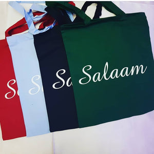 4-piece set Salaam Tote bag