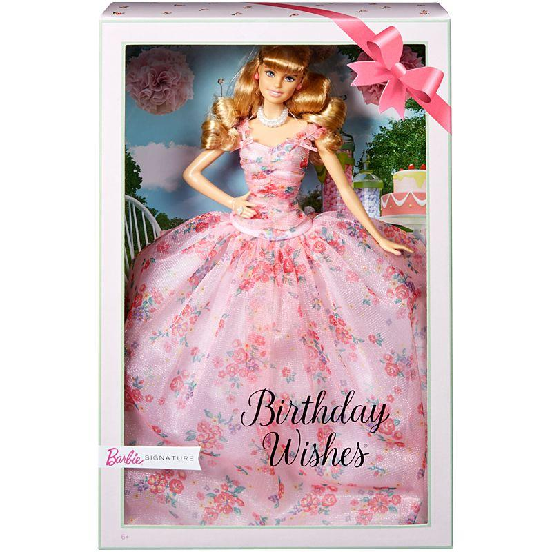 Brand New in Box Collectable Classic Barbie Birthday Wishes Doll - My Cute Cheap Store