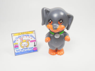 Littlest Pet Shop Vintage Kenner Standing Doberman dog - My Cute Cheap Store