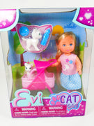 Evi Cat Buggy  Doll collection - My Cute Cheap Store