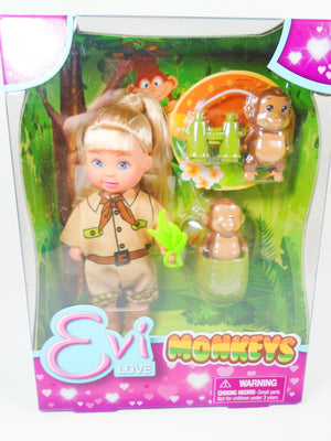 Evi Monkeys Doll collection - My Cute Cheap Store