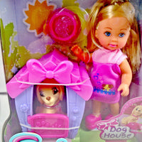 Little Girls Play Doll Dog House Collection - My Cute Cheap Store