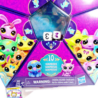 Littlest Pet Shop Lucky Pets - Fortune Crew - 10 Surprises - NEW Roll & Reveal - My Cute Cheap Store
