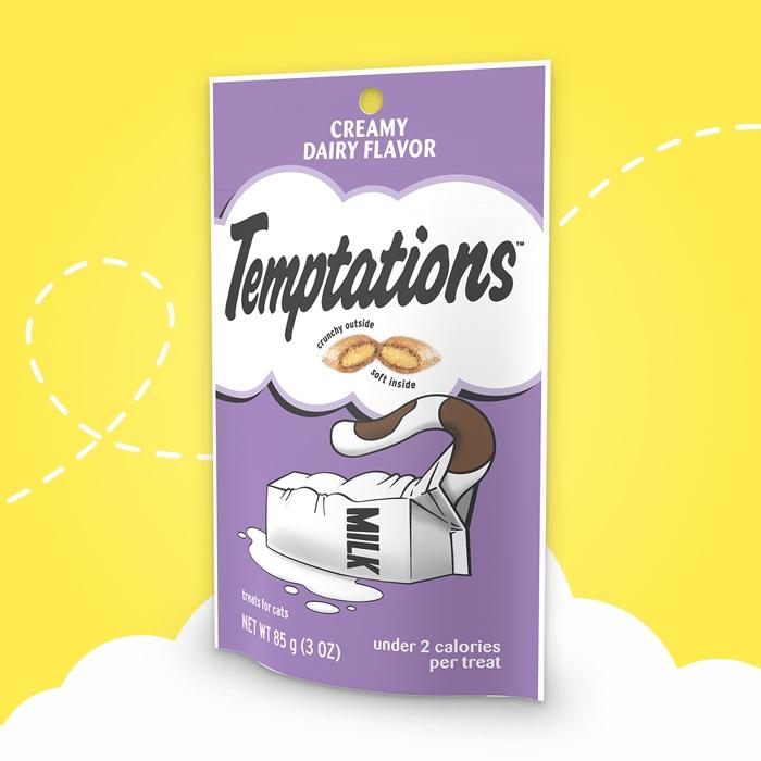 Temptations Creamy Dairy Flavor Cat Treats 3 oz - My Cute Cheap Store