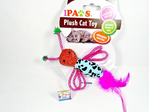 Cute Plush Cat Toy Butterfly - My Cute Cheap Store