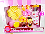 Play Cake Set 15 pcs - My Cute Cheap Store