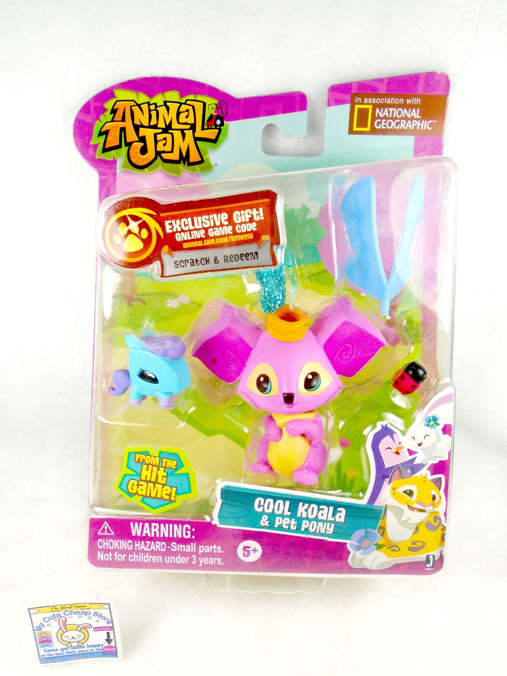 Animal Jam Cool Koala & Pet Pony - My Cute Cheap Store