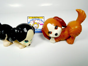 Littlest Pet Shop Kenner set of 2 dogs - My Cute Cheap Store