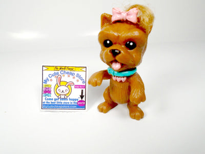 Littlest Pet Shop Kenner Standing Puppy with real hair - My Cute Cheap Store