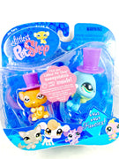 Littlest Pet Shop Mouse and Peacock Bird with Hats #462 & #463 NIB - My Cute Cheap Store