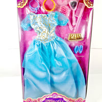 Set of a cute Princess dress and accessories - My Cute Cheap Store