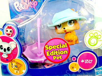 Littlest Pet Shop Special Edition Pomeranian Dog #1317 NIB - My Cute Cheap Store
