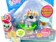 Littlest Pet Shop Rhino Rhinoceros with Floppy Hat #1908 Special Edition - My Cute Cheap Store