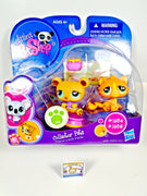 Littlest Pet Shop Collector Pets #1834 & #1835 Tabby Cat & Bear NIB - My Cute Cheap Store