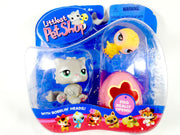 Littlest Pet Shop Pet Pairs Persian cat #82 and Chick #81 NIB - My Cute Cheap Store