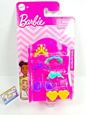 Barbie set of 6 accessories - My Cute Cheap Store