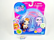 Littlest Pet Shop Horse #1499 and Purple Boxer #1500 NIB - My Cute Cheap Store