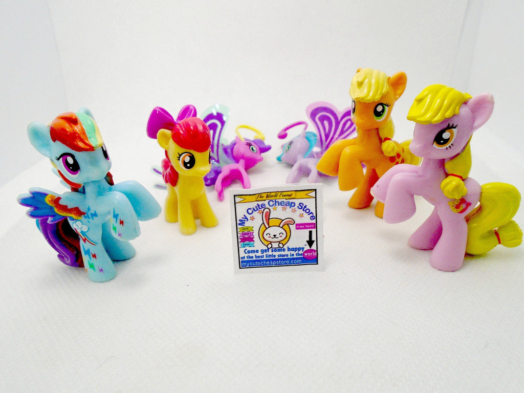 My little Pony lot of 6 Figurines - My Cute Cheap Store